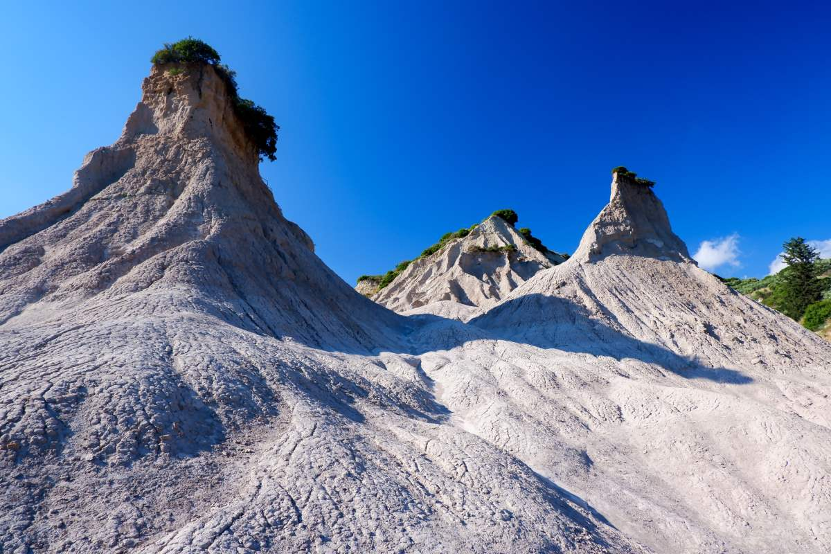 Κομόλιθοι Κρήτη, σεληνιακό τοπίο