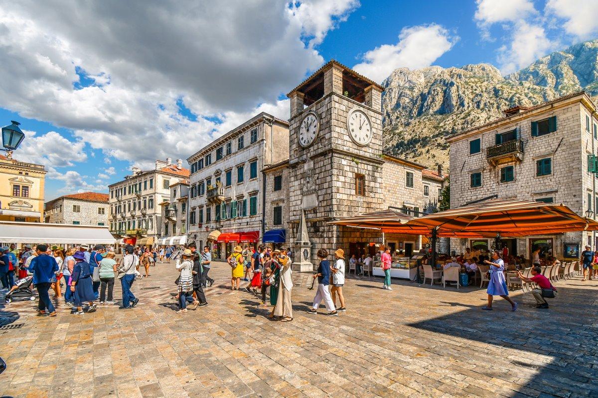 Kotor, Μαυροβούνιο παλιά πόλη