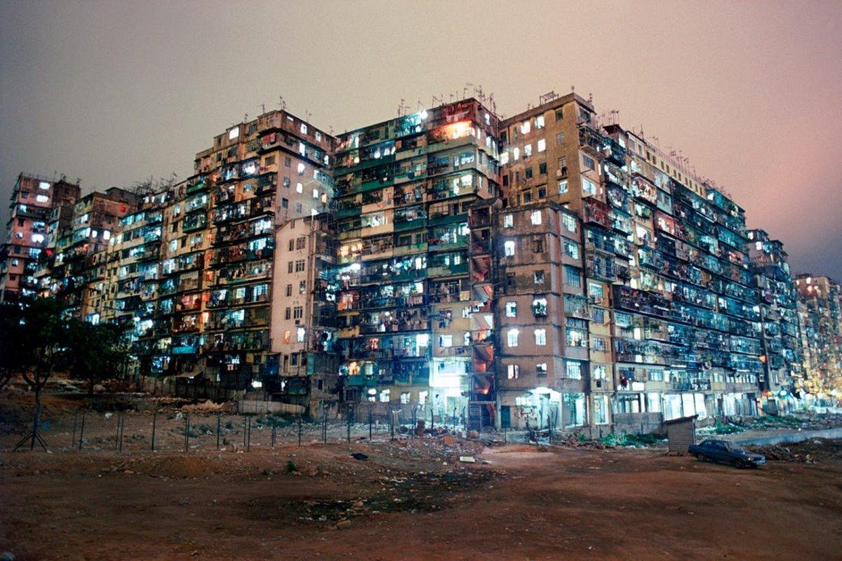Kowloon πόλη παρανόμων Κίνα