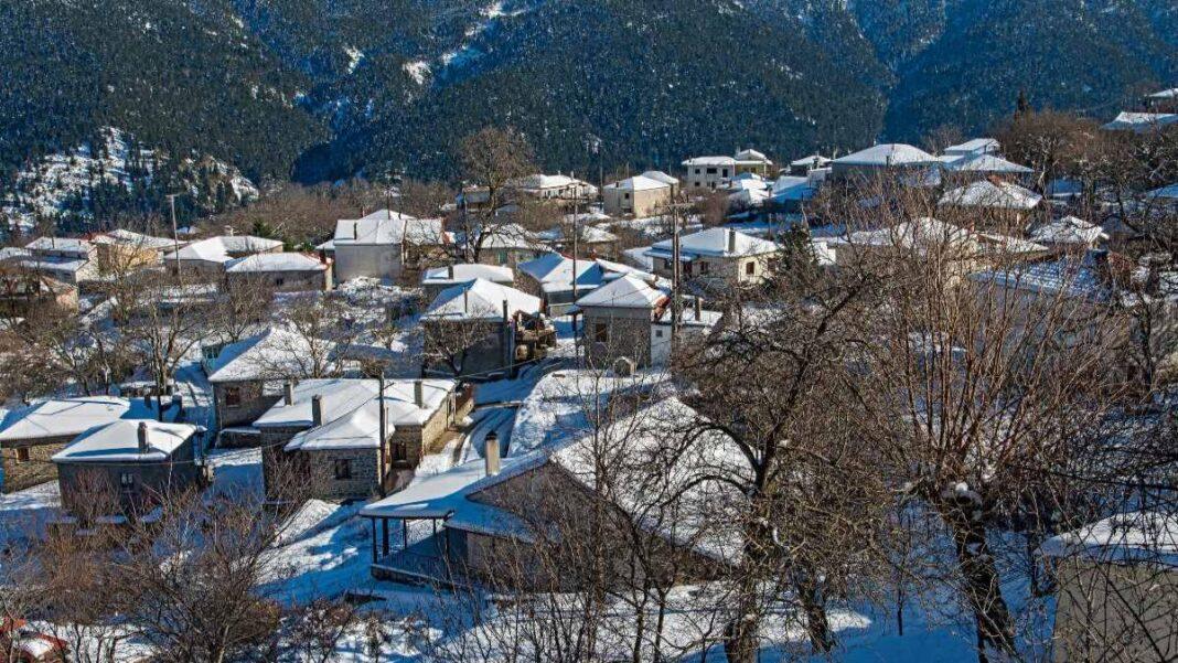 Ορεινά χωριά Ευρυτανίας - Κρίκελλο