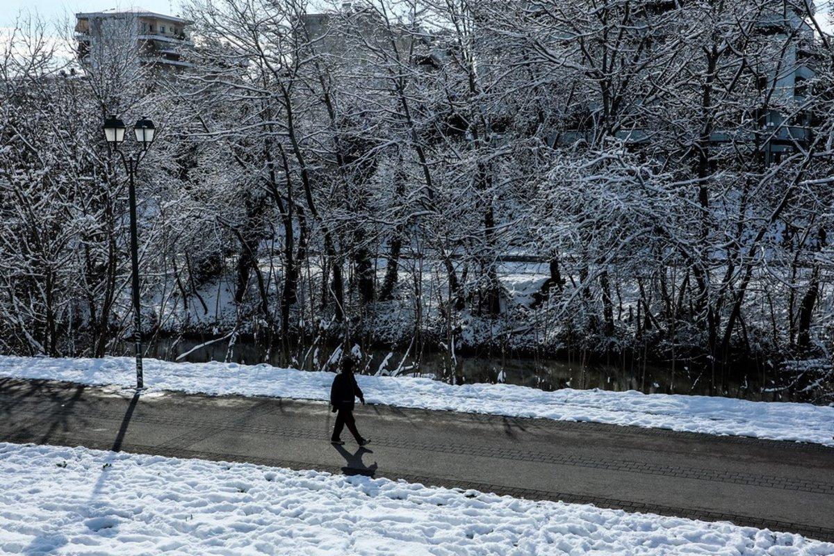 Χιόνια Μήδεια Λάρισα