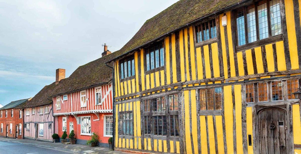 Lavenham, Αγγλία μυστικό χωριό Ευρώπη