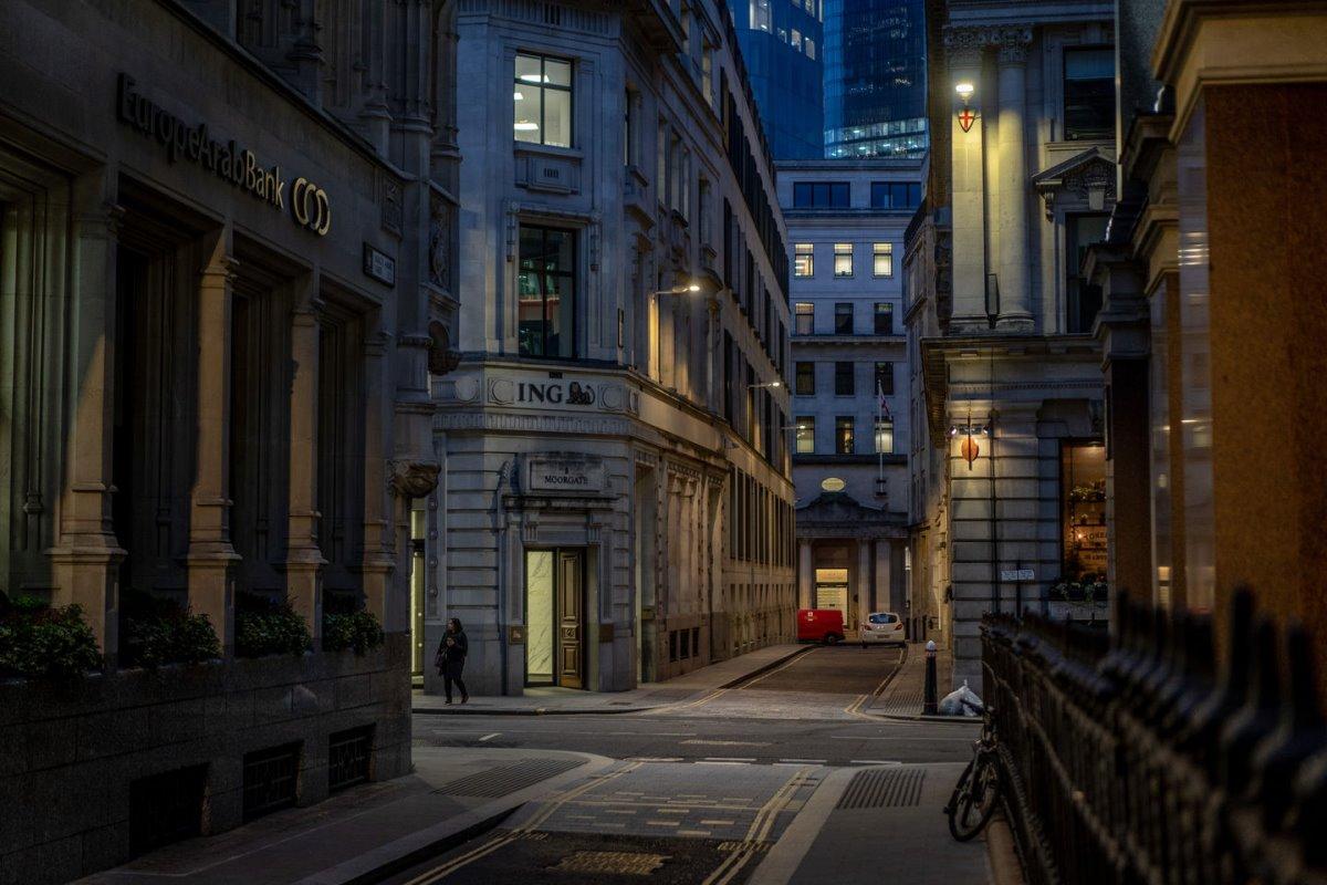 Λονδίνο άδεια πόλη