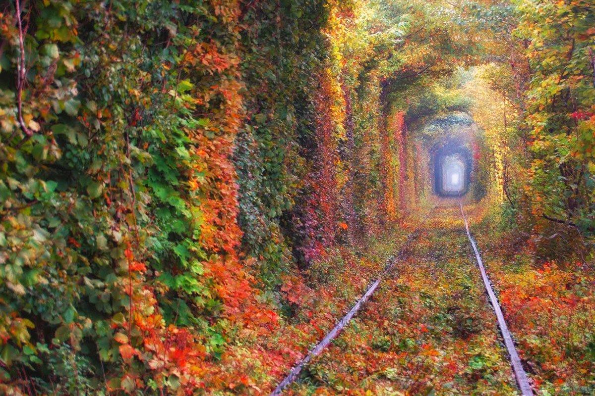 Το τούνελ της αγάπης, Κλεβάν, Ουκρανία