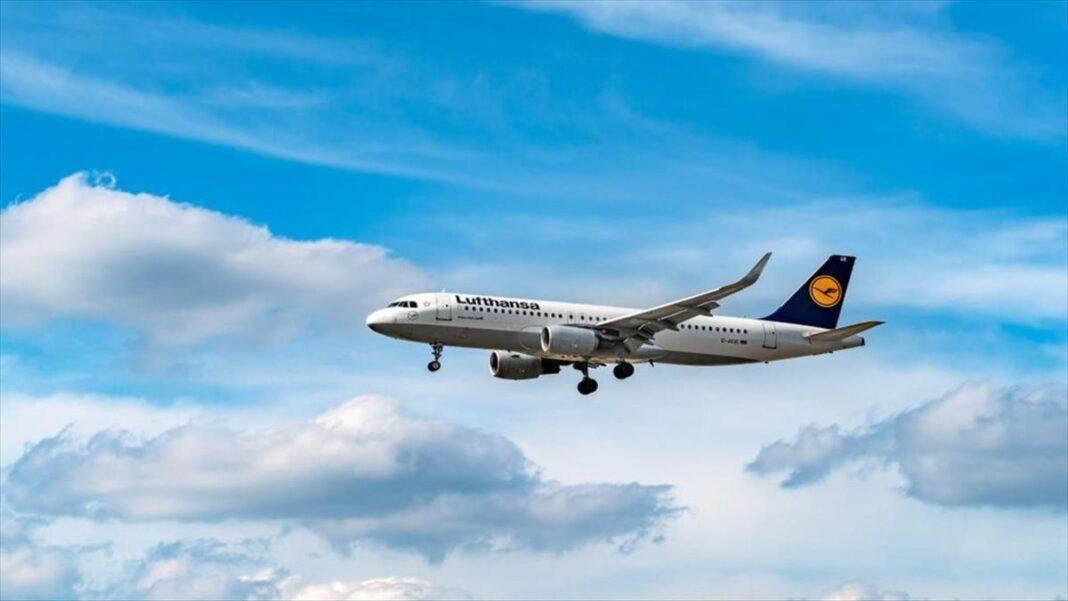 Lufthansa αεροσκάφος