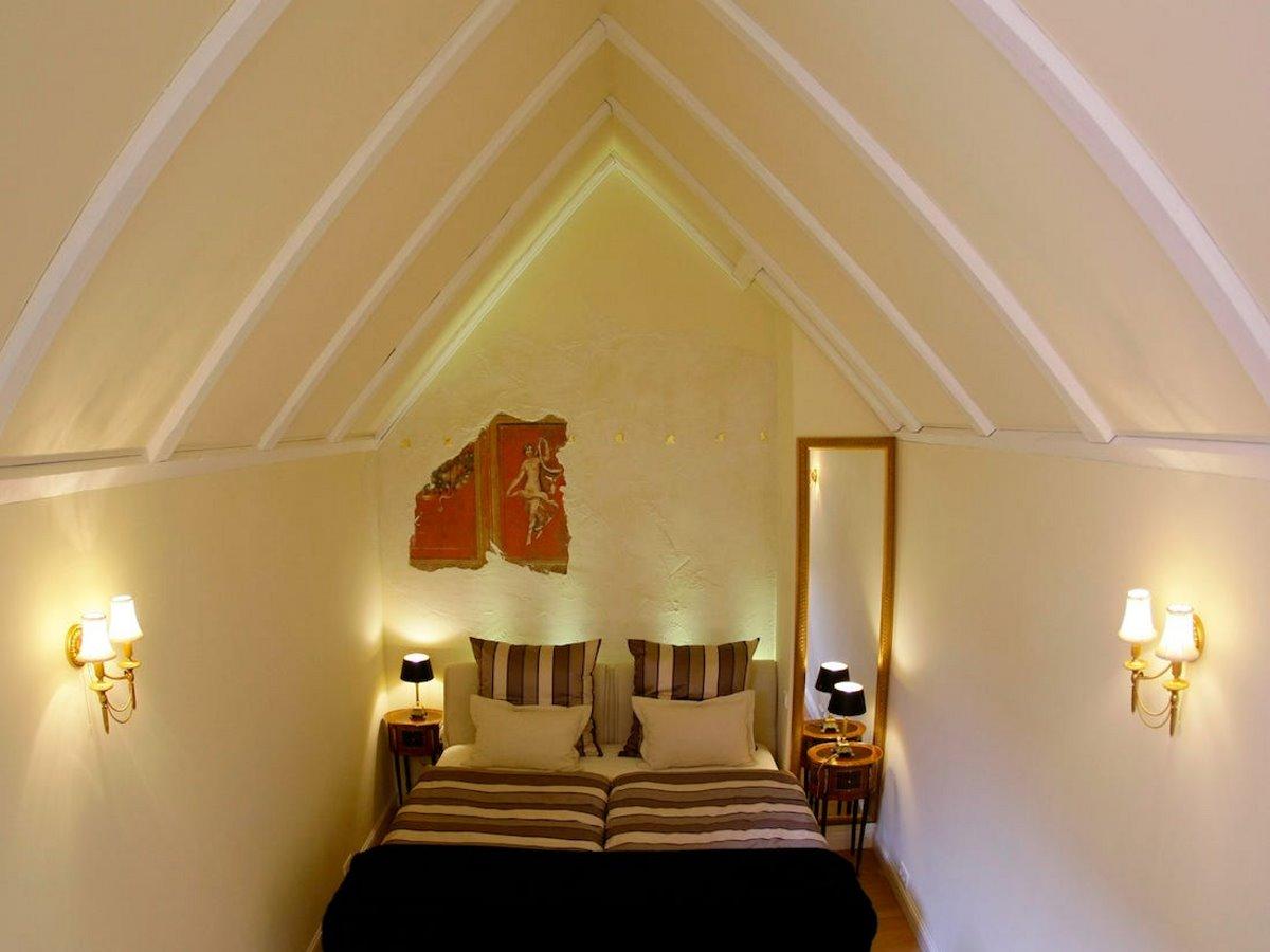 Το δωμάτιο στο μικρότερο ξενοδοχείο