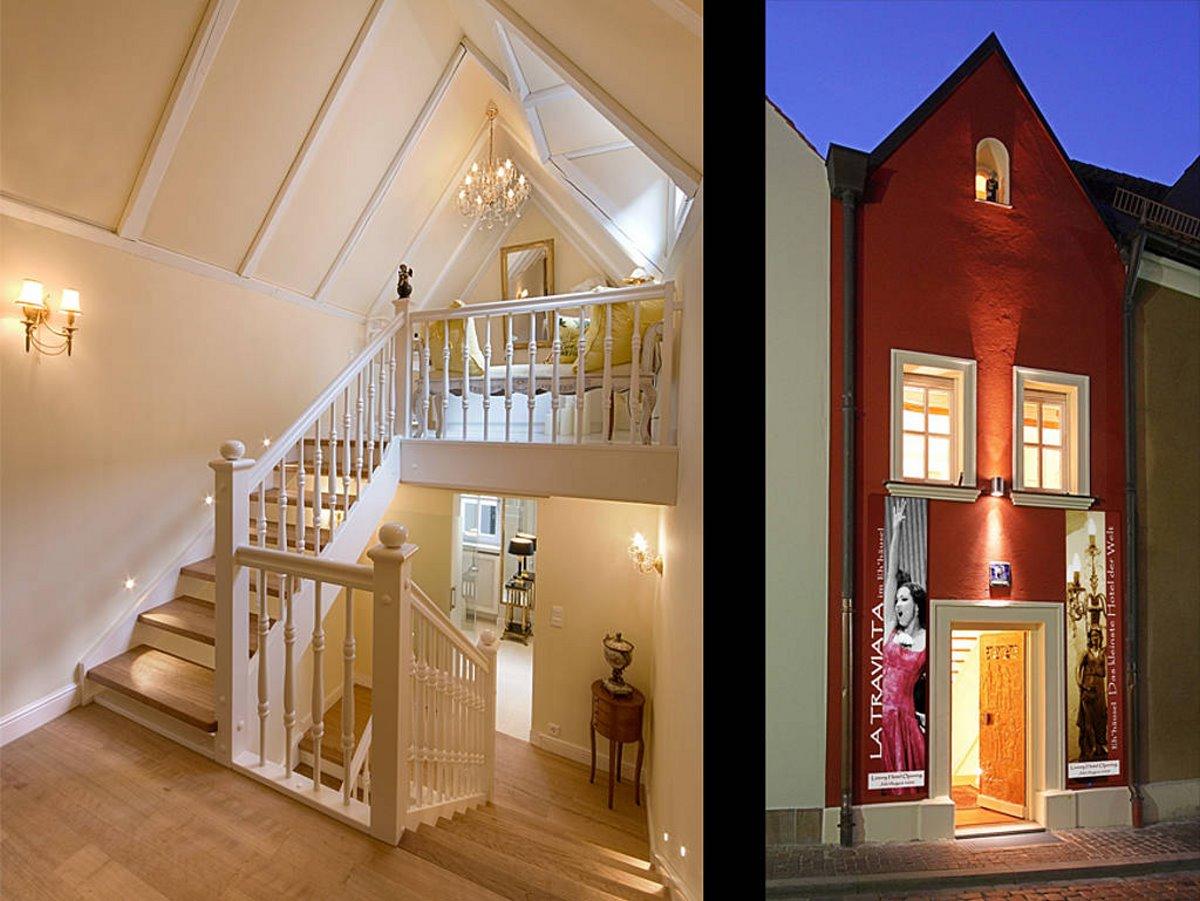 Είσοδος και εσωτερικό από το Eh'häusl  στη Γερμανία