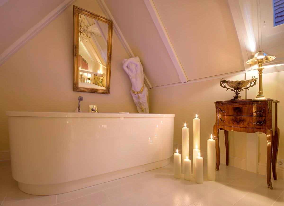 Το μπάνιο στο ξενοδοχείο των 53 τετραγωνικών
