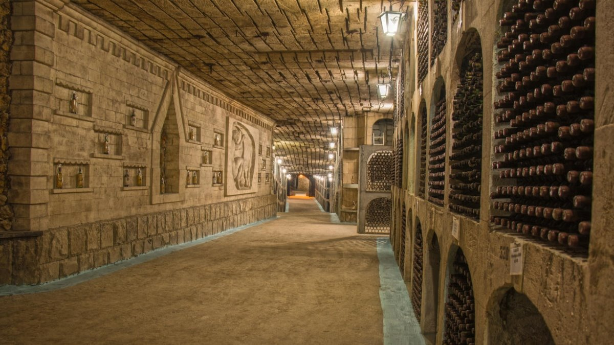 Milestii Mici υπόγεια πόλη κελάρι κρασιά