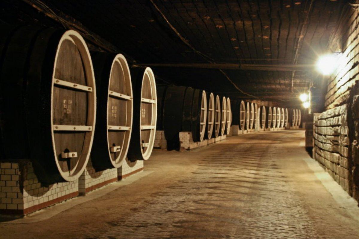 Milestii Mici μεγαλύτερο υπόγειο κελάρι Μολδαβία