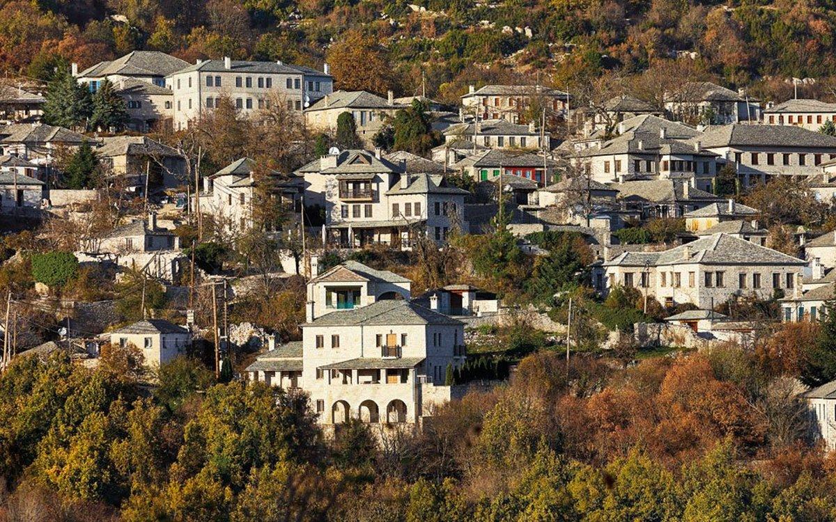 Μονοδένδρι ορεινό χωριό