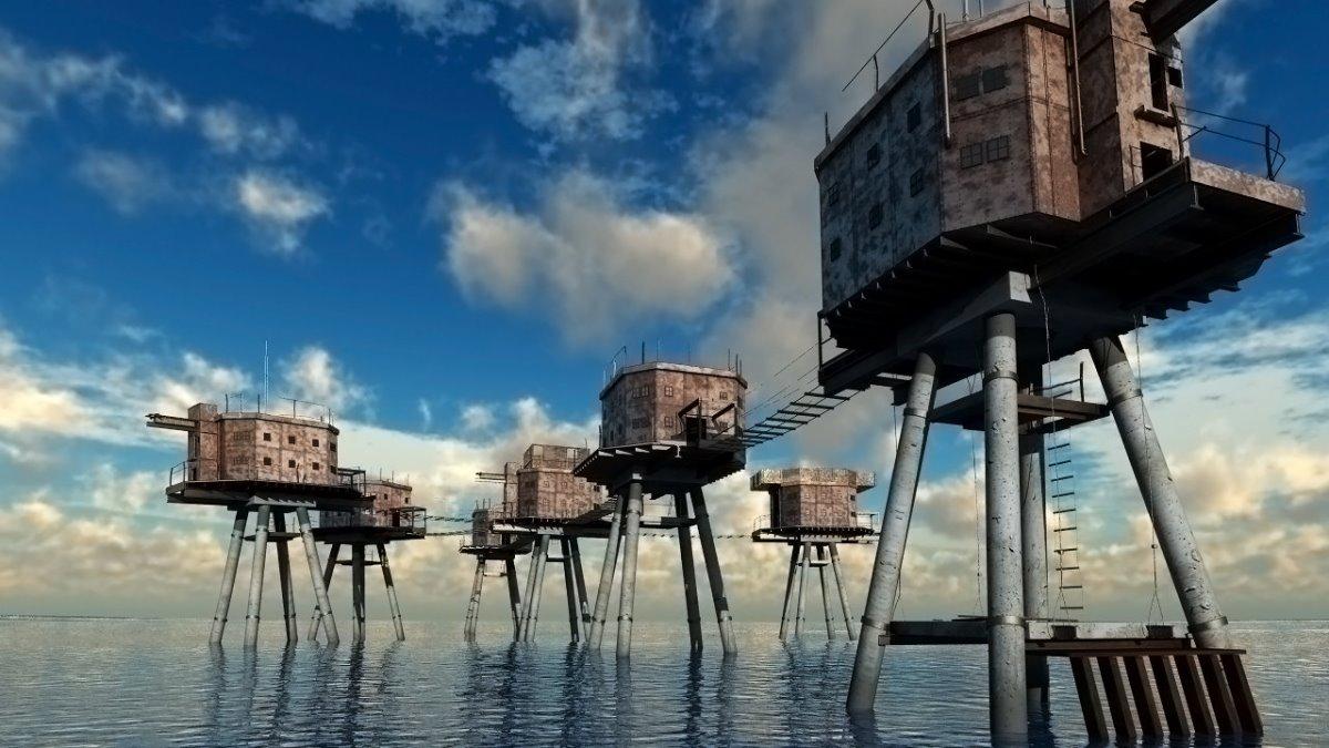 Φρούρια Μάνσελ, Βόρεια Θάλασσα