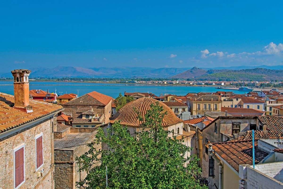 Ναύπλιο  Παλιά πόλη πανοραμική άποψη