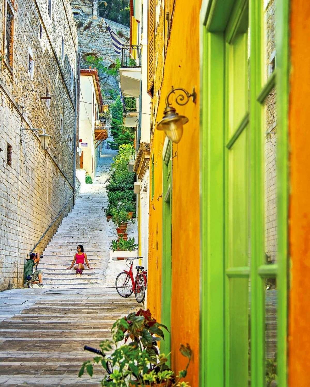 Ναύπλιο  Παλιά πόλη Ψαρομαχαλάς