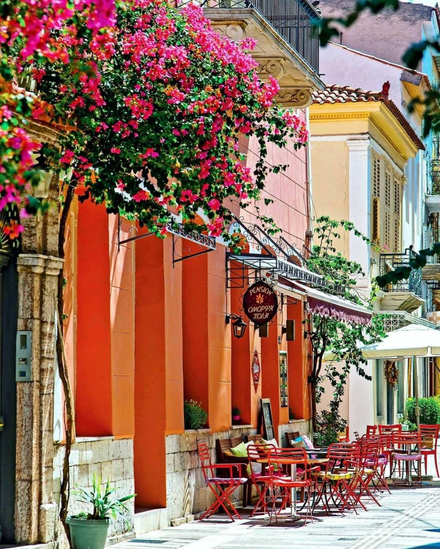 Ναύπλιο  Παλιά πόλη, σοκάκι