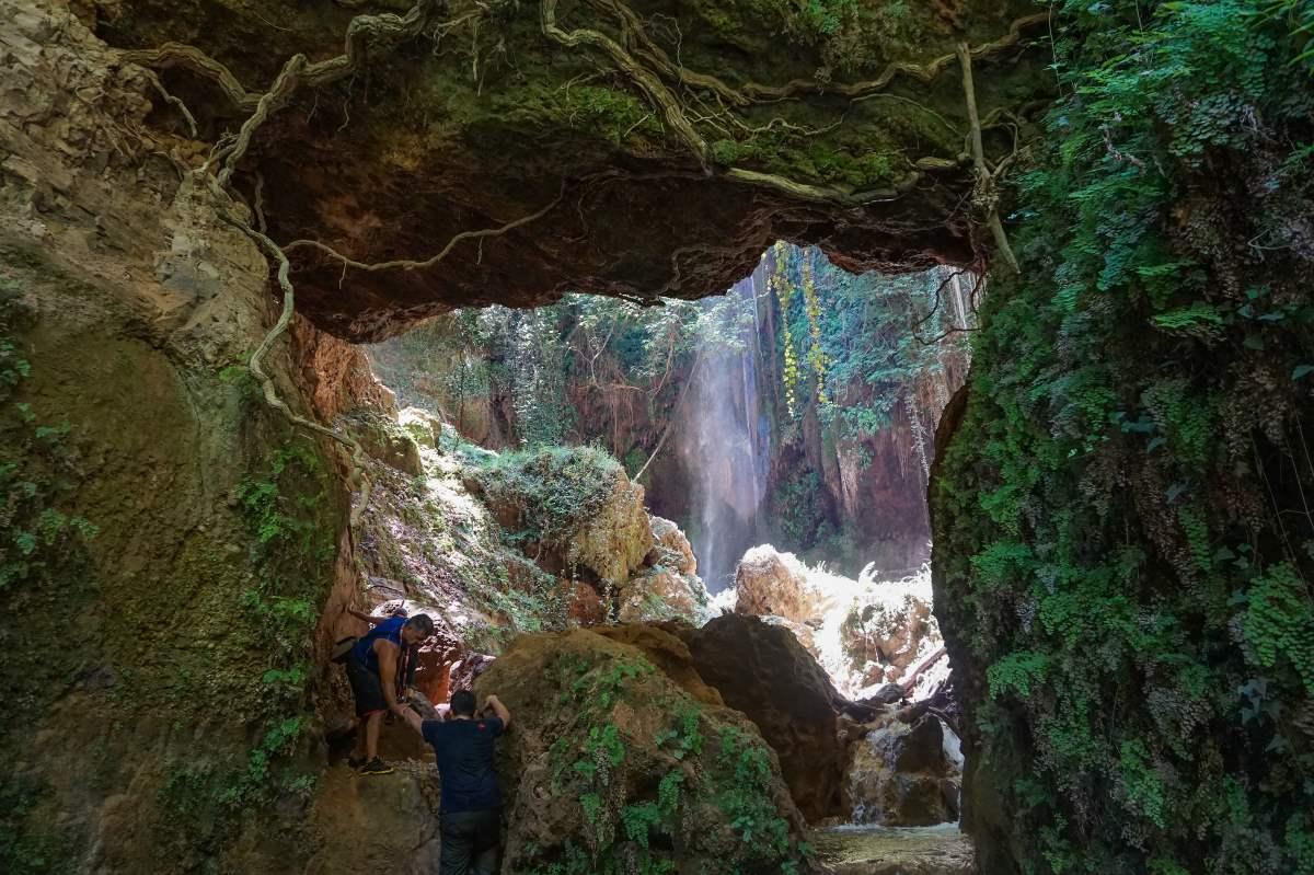Καταρράκτες Νεμούτας, πεζοπορία στη φύση