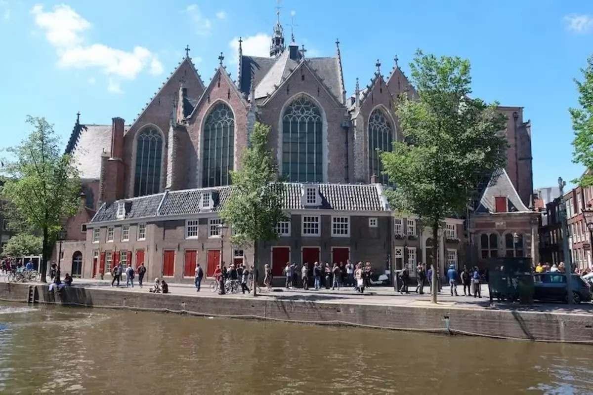 The Oude Church, Amsterdam