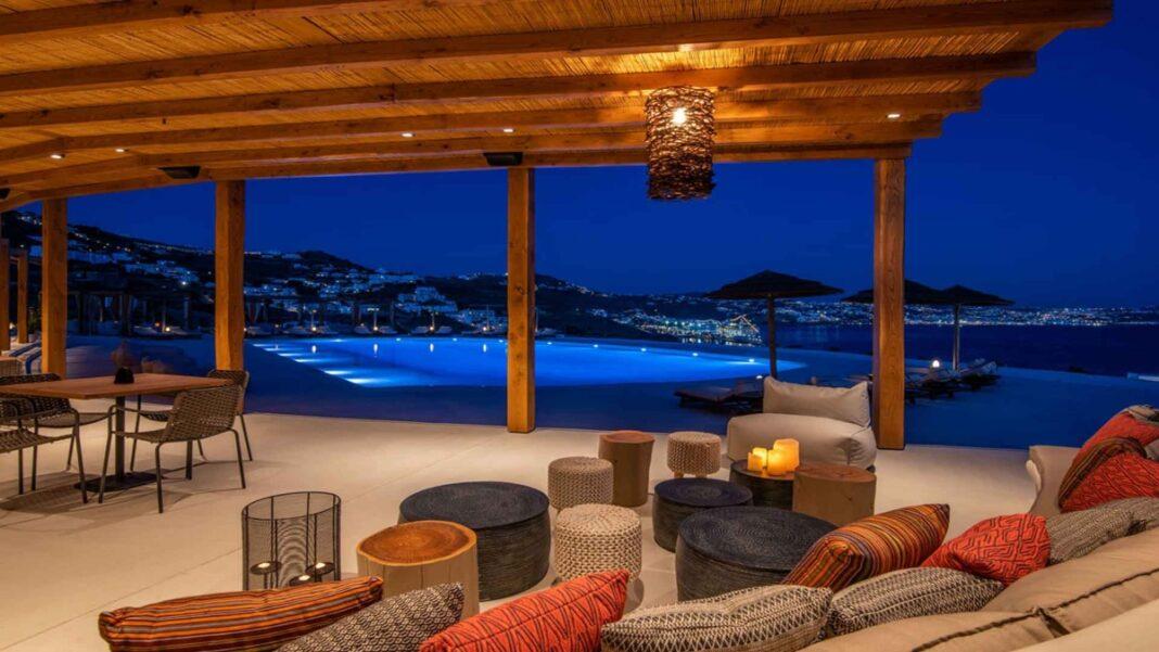 Pacha Mykonos πολυτελές ξενοδοχείο