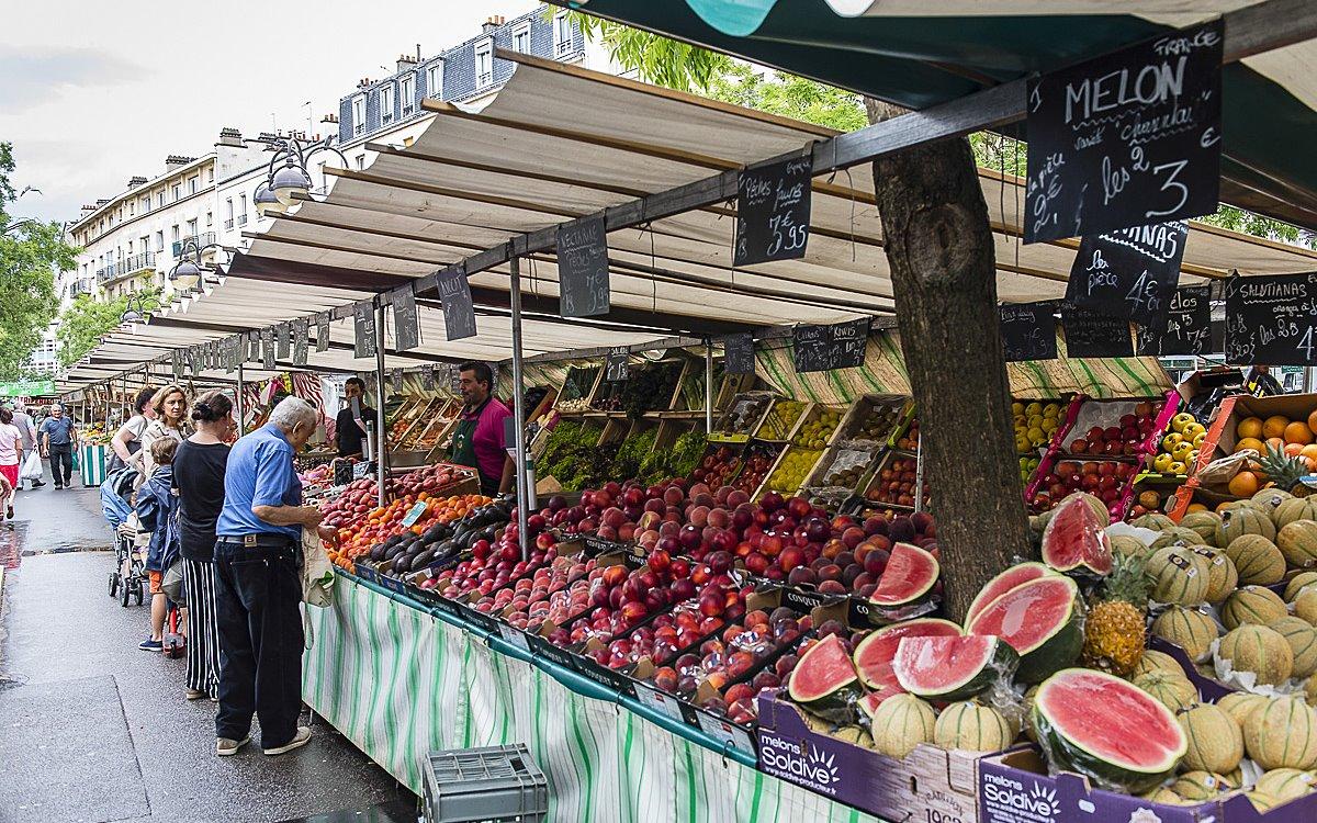 Le Marché Raspail, Παρίσι