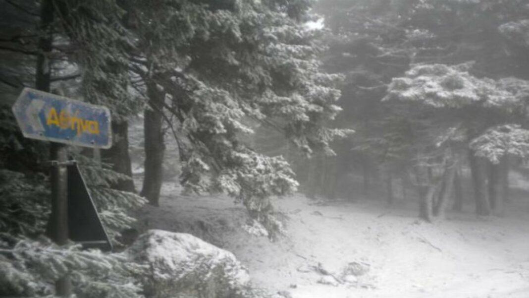 Χιόνια Αττική