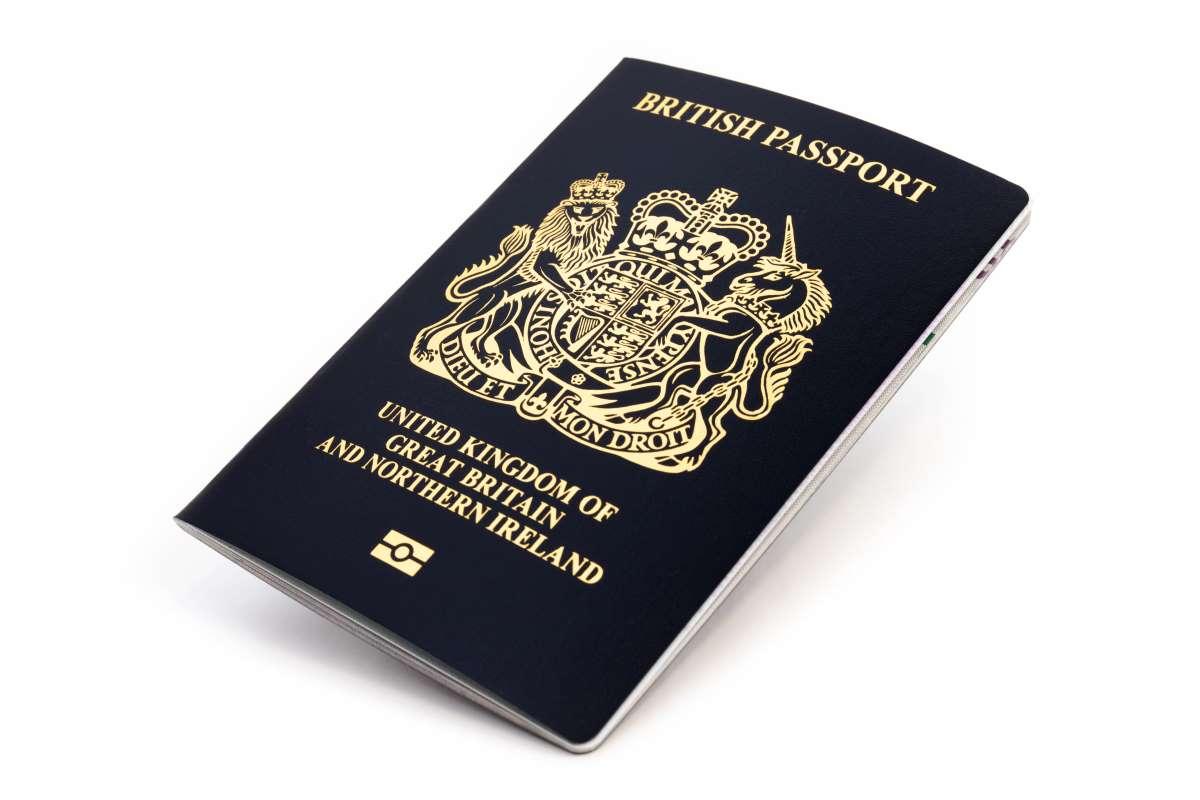 Ηνωμένο Βασίλειο διαβατήριο