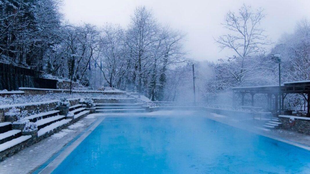 Λουτρά Πόζαρ χιονισμένα
