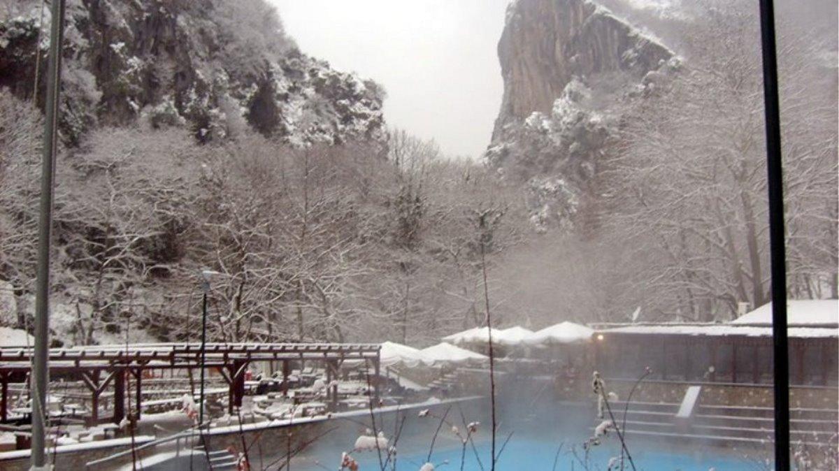 Χειμώνας Λουτρά Πόζαρ