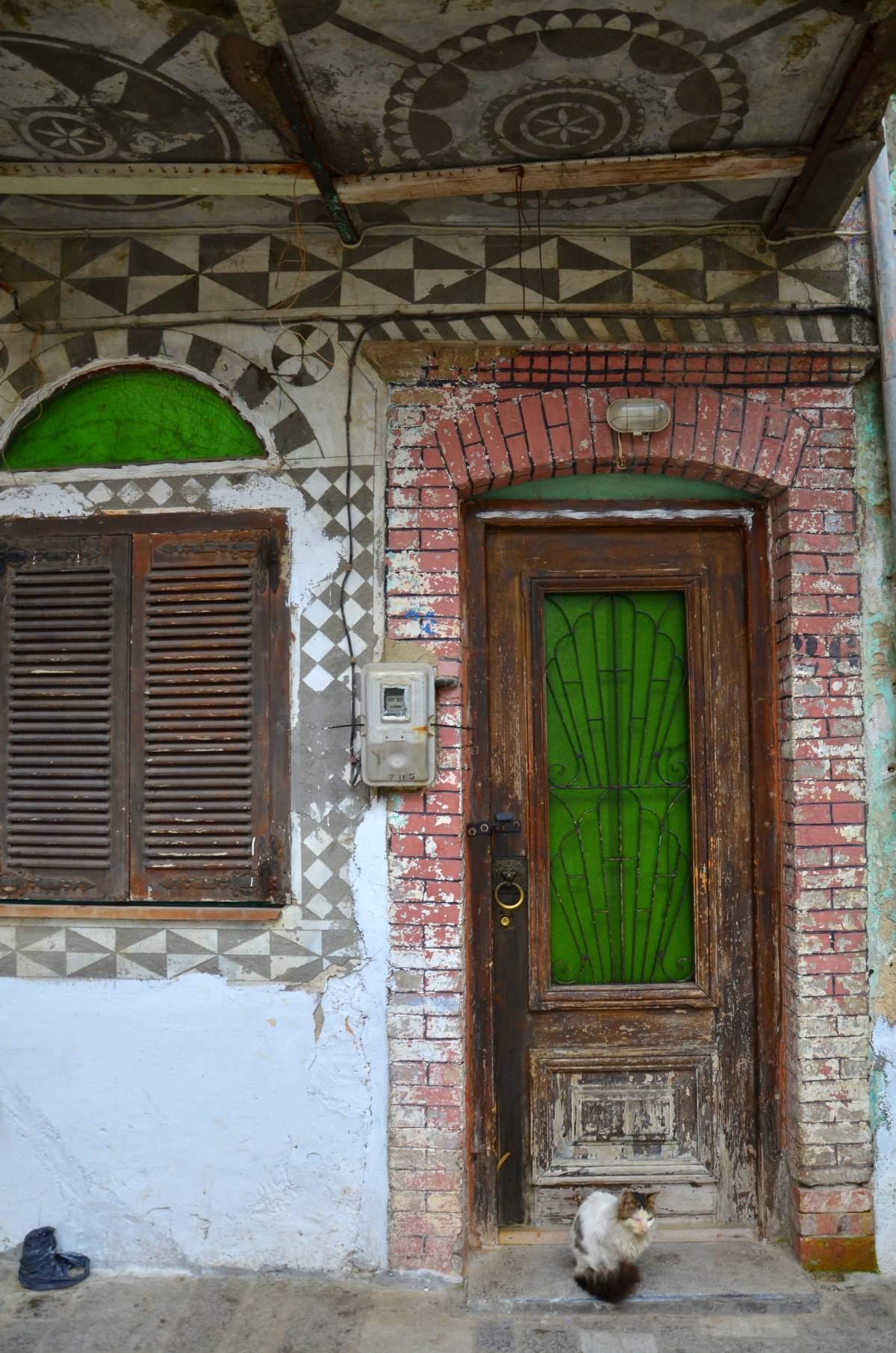 Πυργί Χίος, παλιό κτήριο