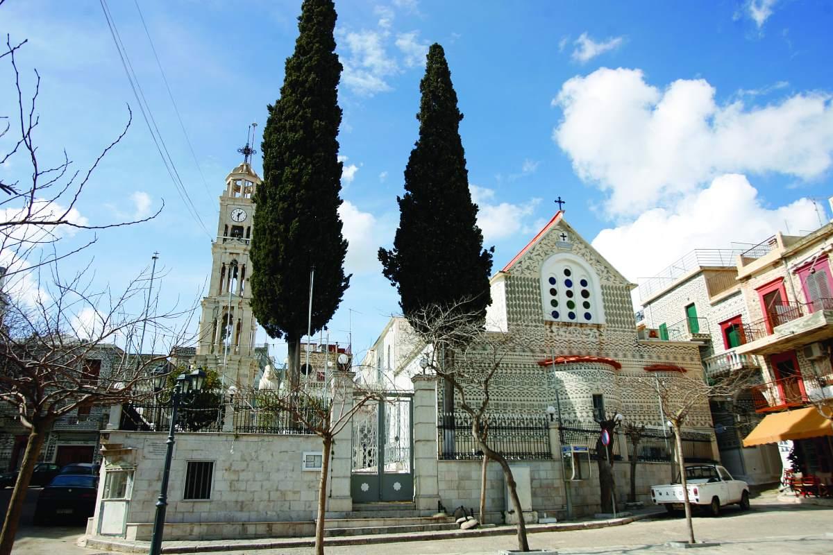 Πυργί Χίος, εκκλησία