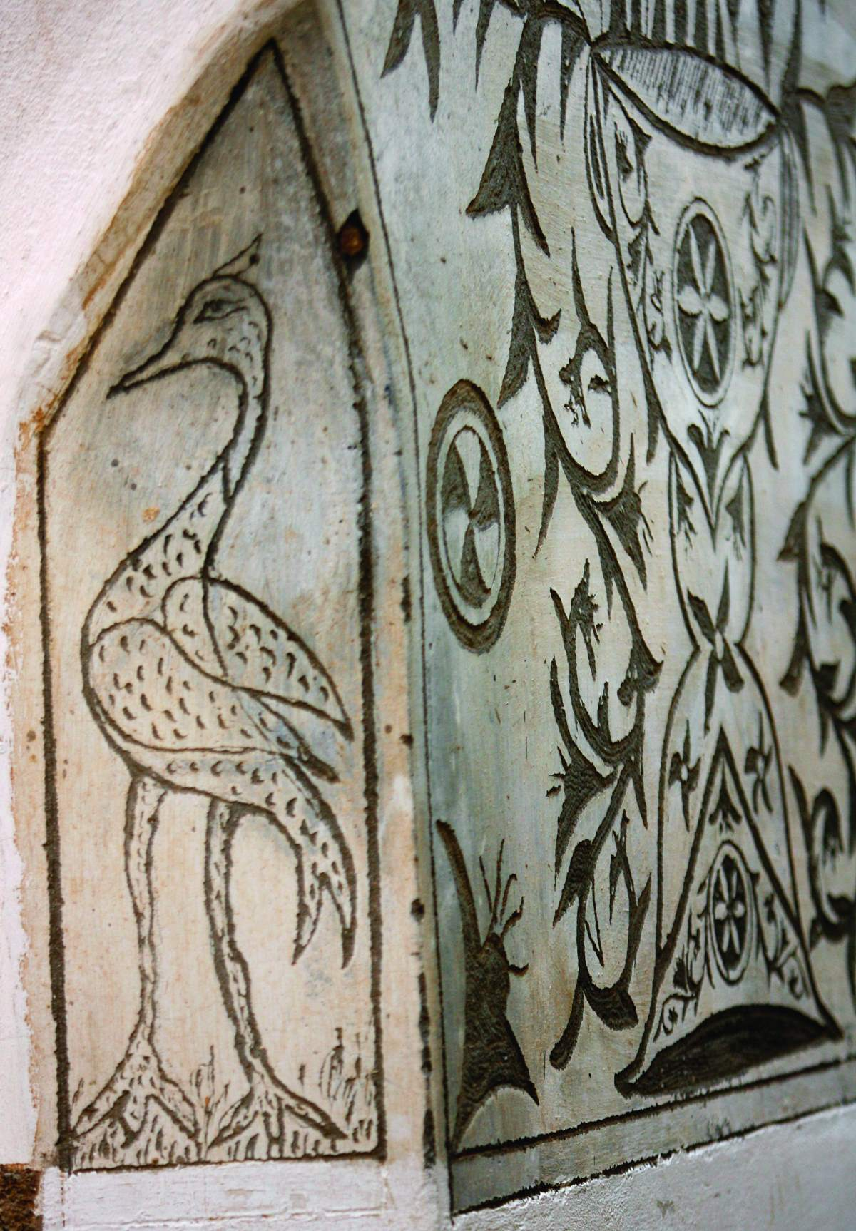 Πυργί Χίος, τοιχογραφία