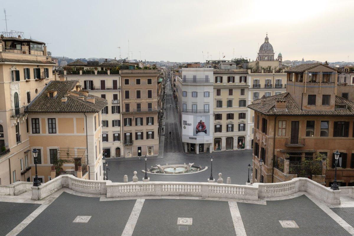 Ρώμη άδεια πόλη