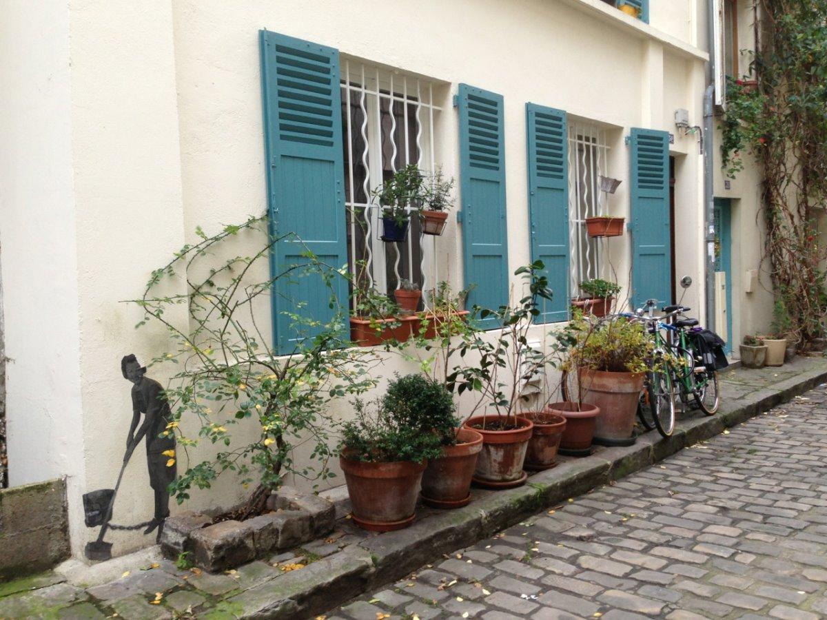 Οδός Θερμοπυλών Παρίσι ωραιότερο σοκάκι με ελληνικό όνομα