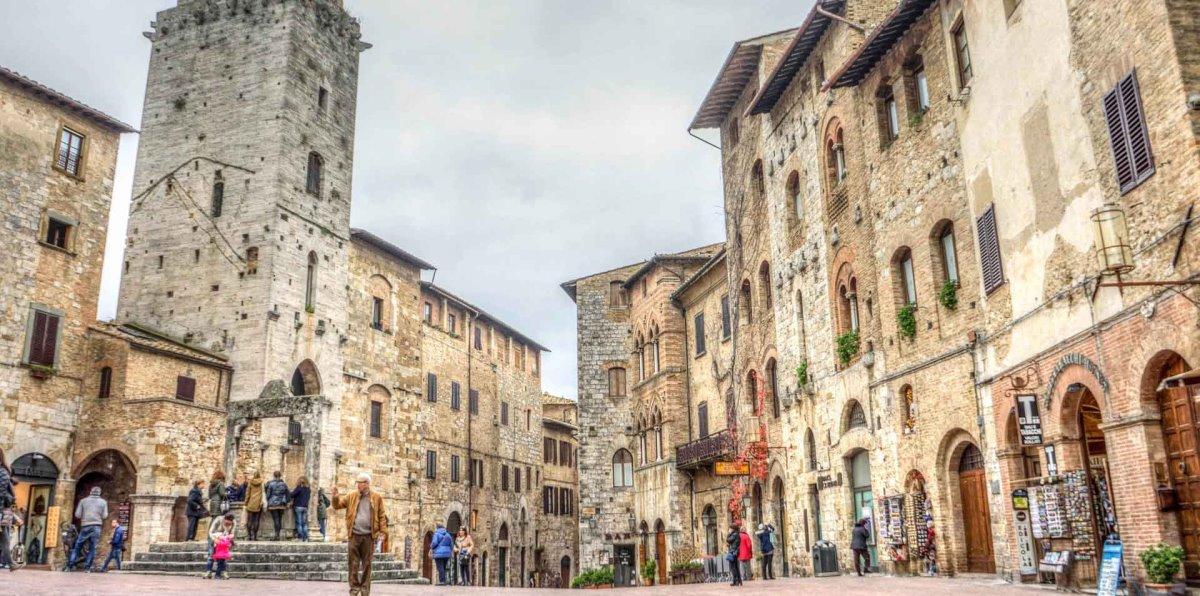 Η πόλη-κάστρο San Gimignano της Τοσκάνης