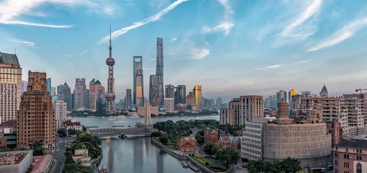 Σαγκάη πόλη Κίνας