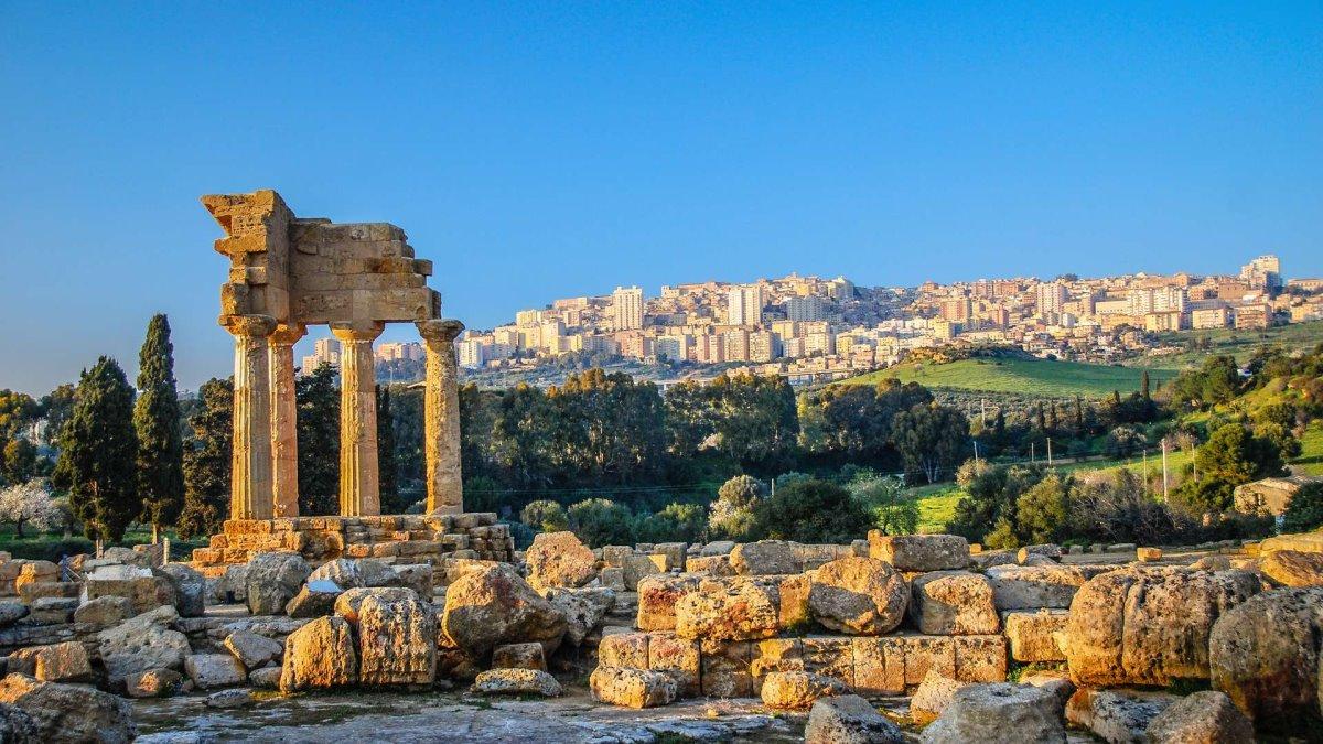 Σικελία ελληνικά χωριά