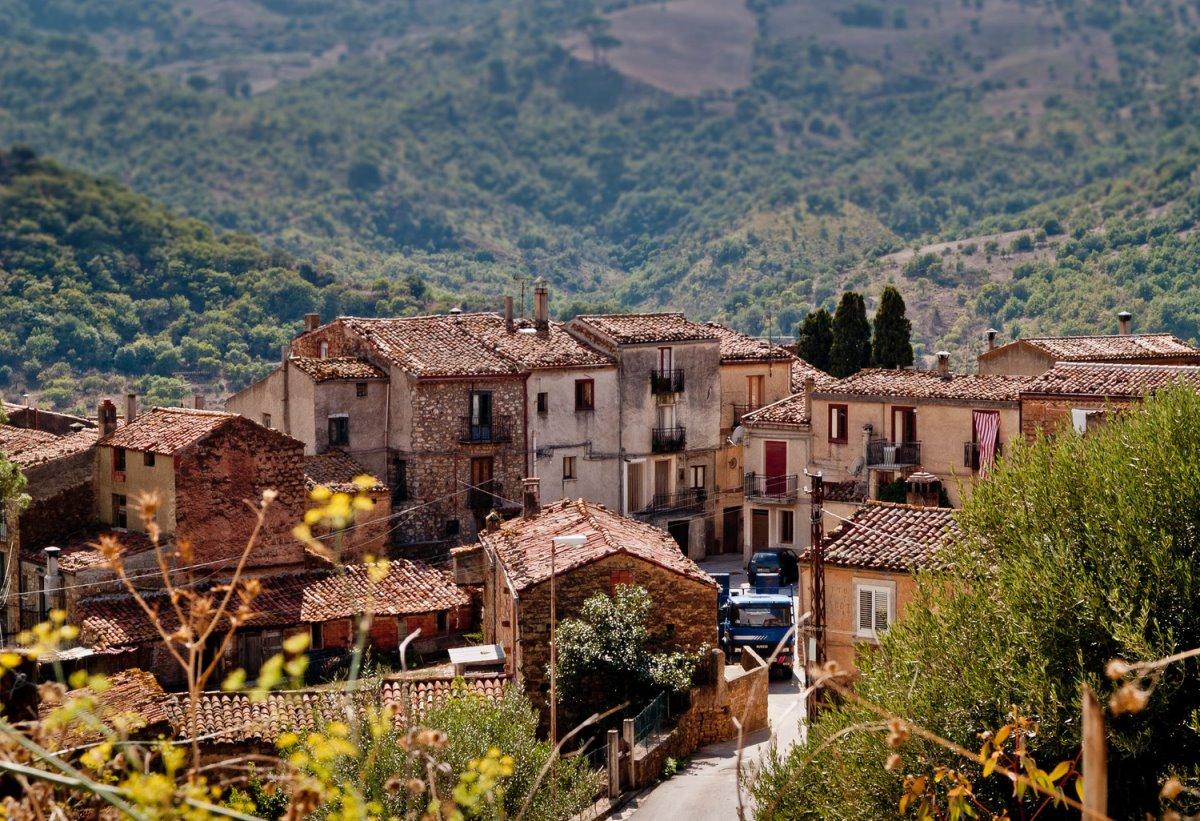 ελληνόφωνο χωριό Galliciano Μεγάλη Ελλάδα Ιταλία