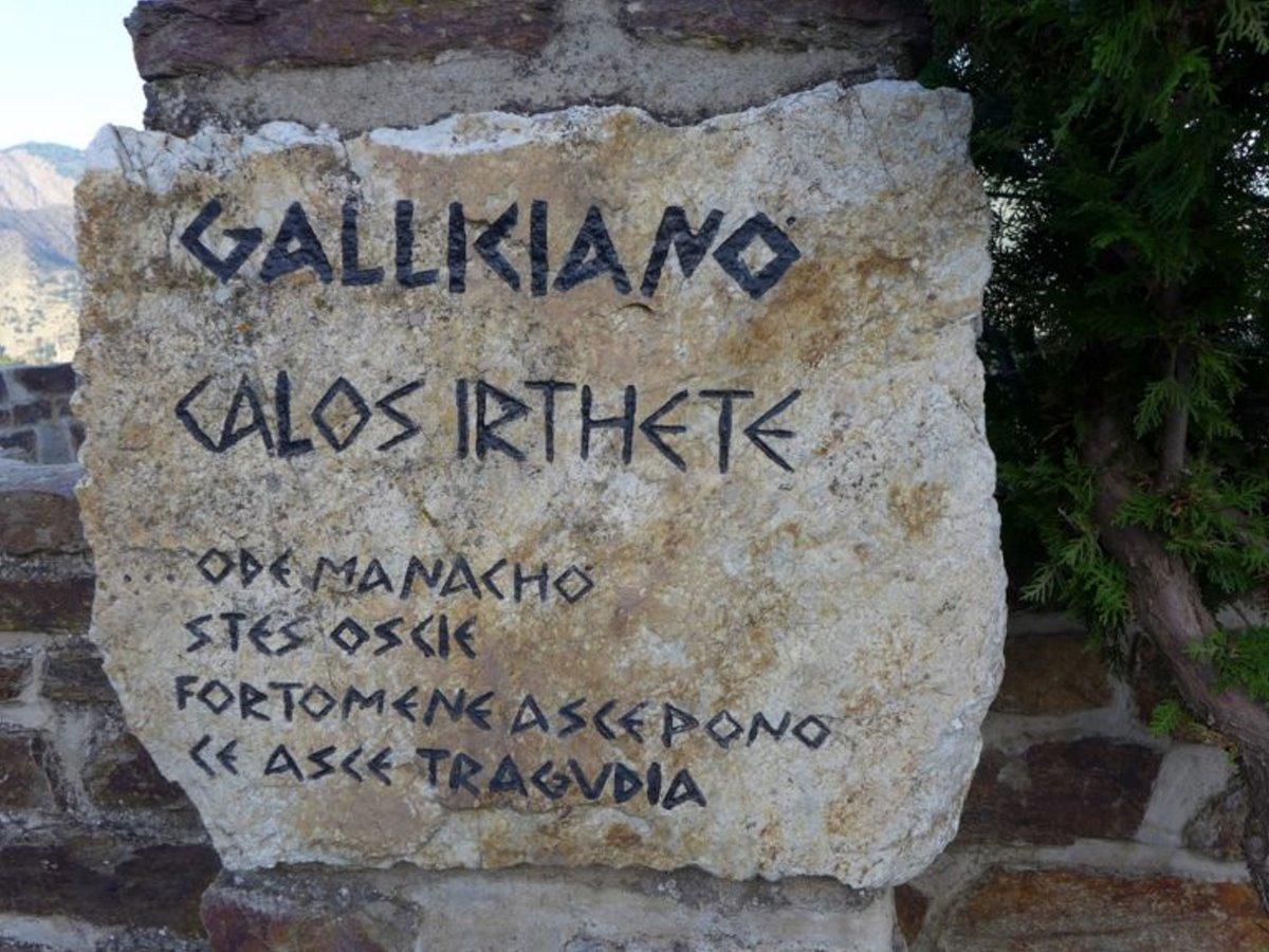 ελληνόφωνα χωριά σικελία ελληνική γλώσσα