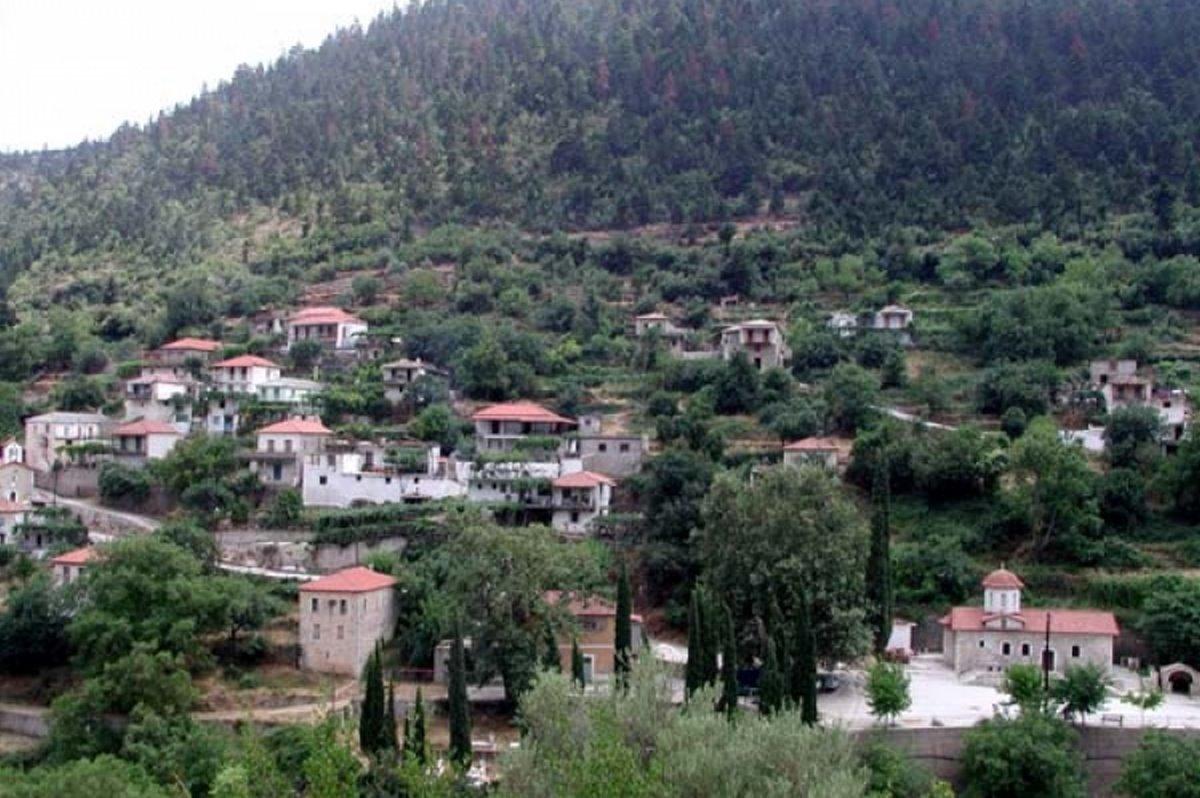 """Σίταινα: Το """"άσημο"""" χωριό της Πελοποννήσου μέσα στα έλατα, φυσικό """"μνημείο"""" του Πάρνωνα! (βίντεο)"""
