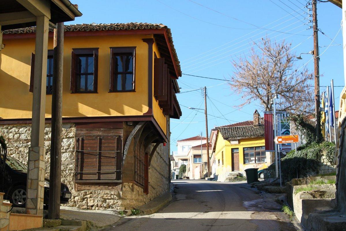 Σουφλί οδική διαδρομή Ελλάδα Έβρος