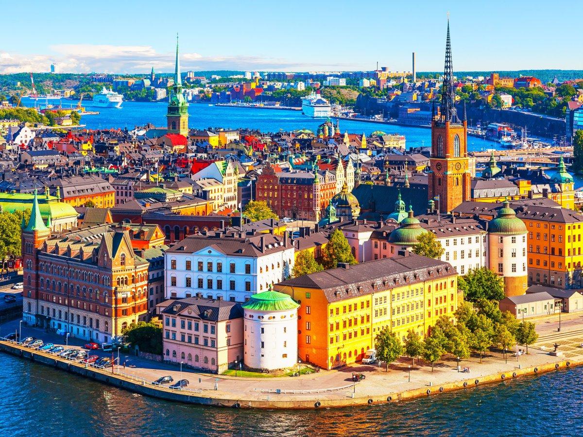 Η κουκλίστική Στοκχόλμη της Σουηδίας