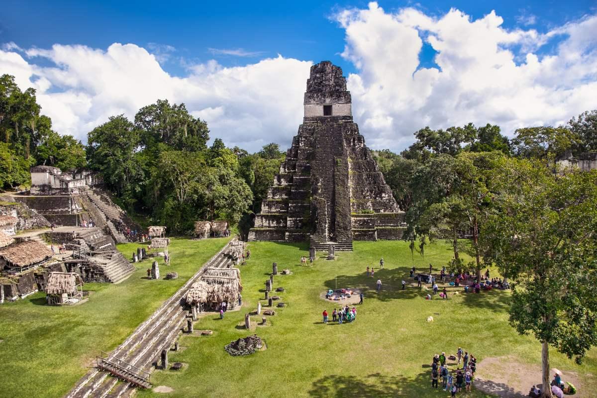 Αρχαιολογικός χώρος Τικάλ, Γουατεμάλα