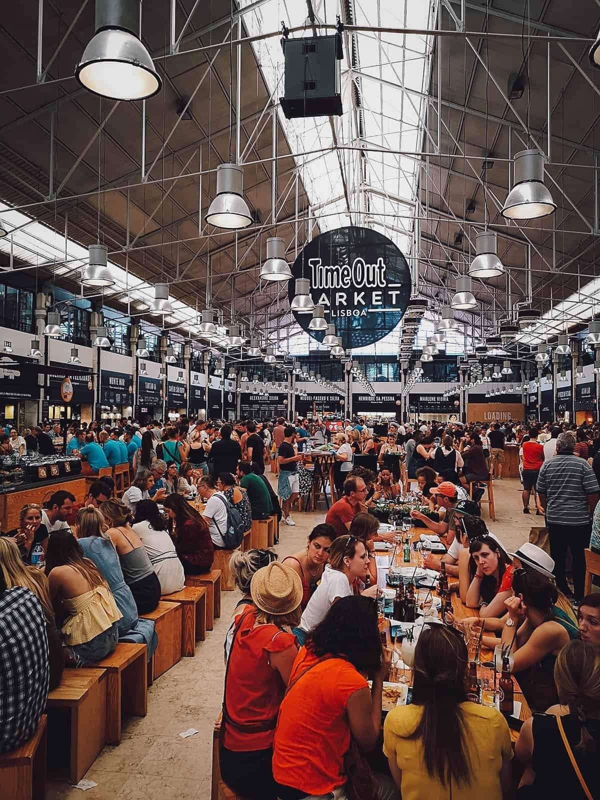 Time Out αγορά τροφίμων Πορτογαλία