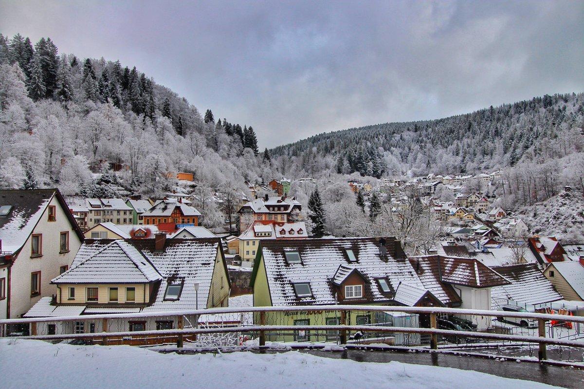 Μέλανας Δρυμός χωριό Triberg