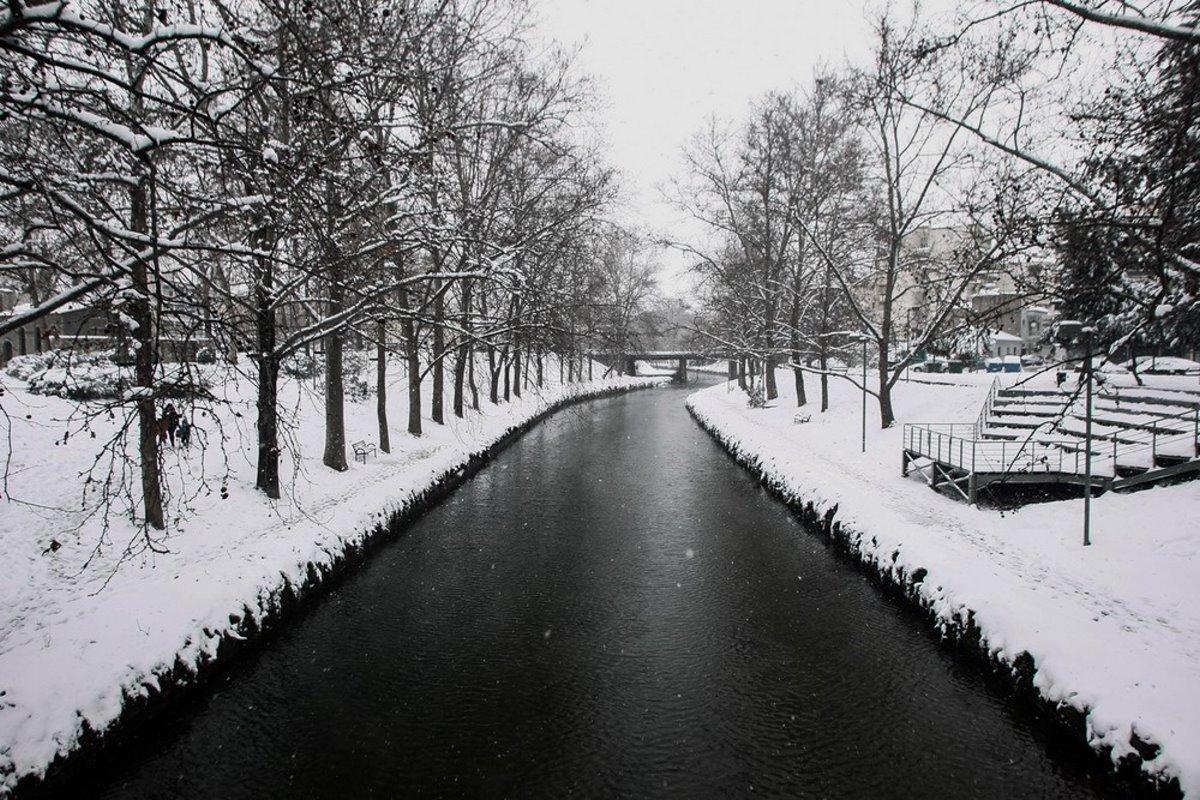 Τρίκαλα χιονισμένα