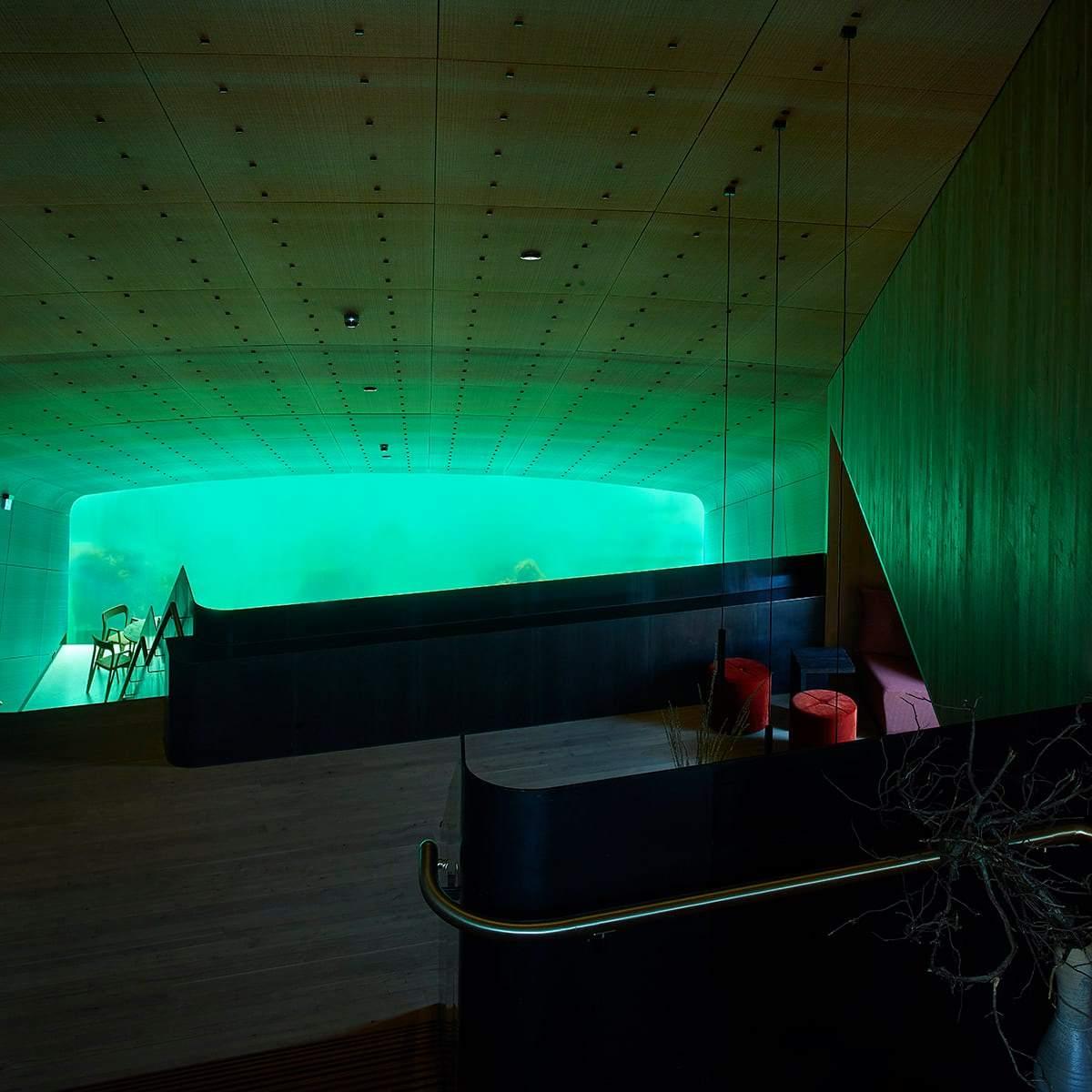 Under, Νορβηγία  το πιο Instagrammable εστιατόριο στον κόσμο, είσοδος