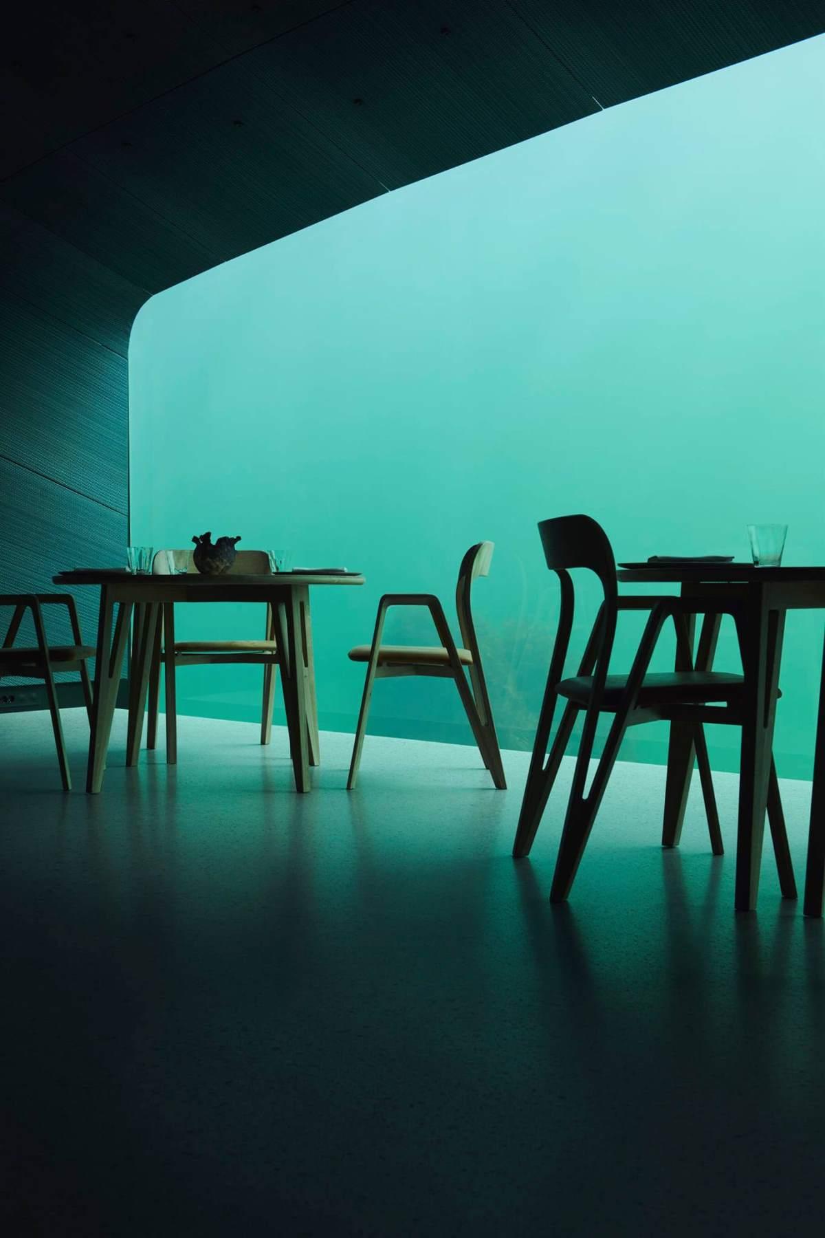Under, Νορβηγία  το πιο Instagrammable εστιατόριο στον κόσμο, δίπλα στη τζαμαρία