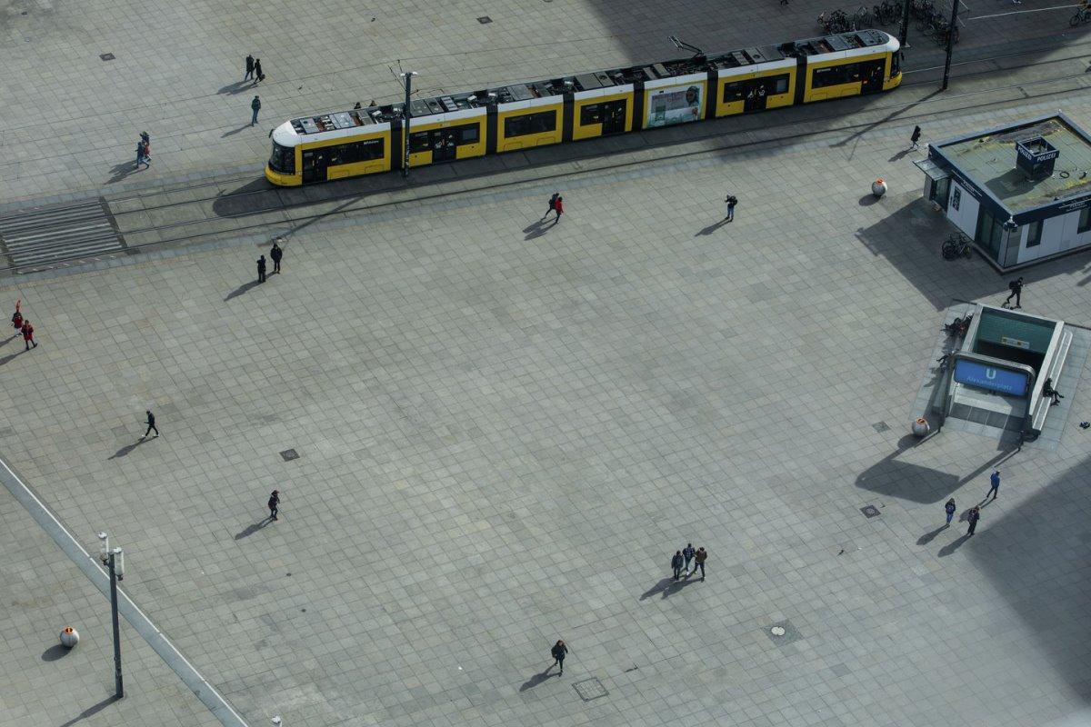 Βερολίνο κόσμος αποστάσεις