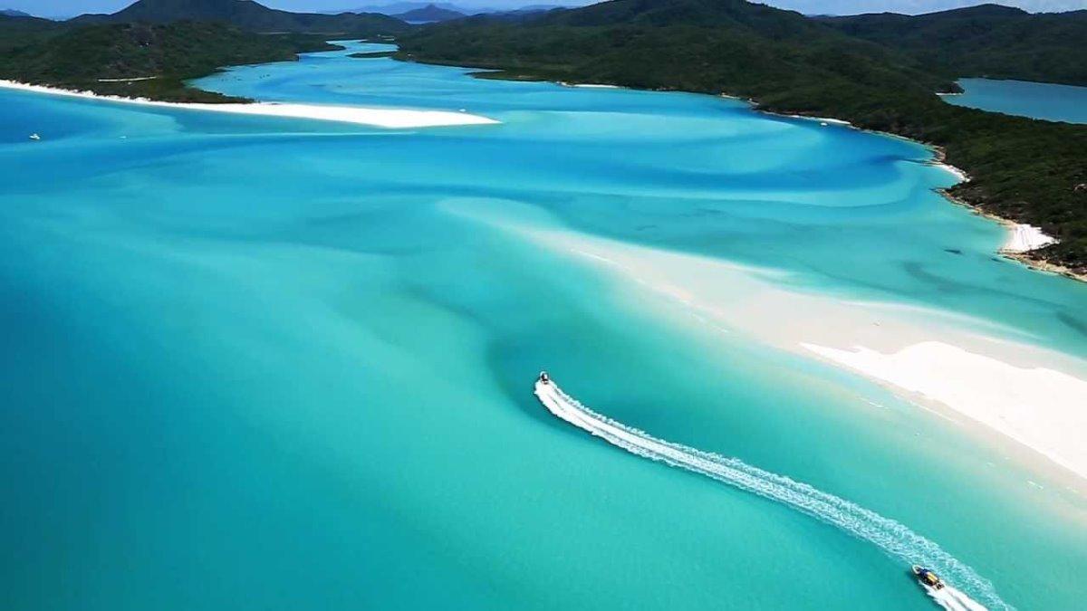 Whitehaven Beach, Whitsunday Island Αυστραλία η καλύτερη παραλία στον κόσμο για το 2021