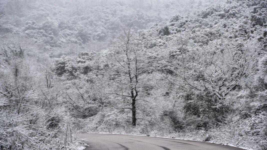 Χιόνια κακοκαιρία Μήδεια