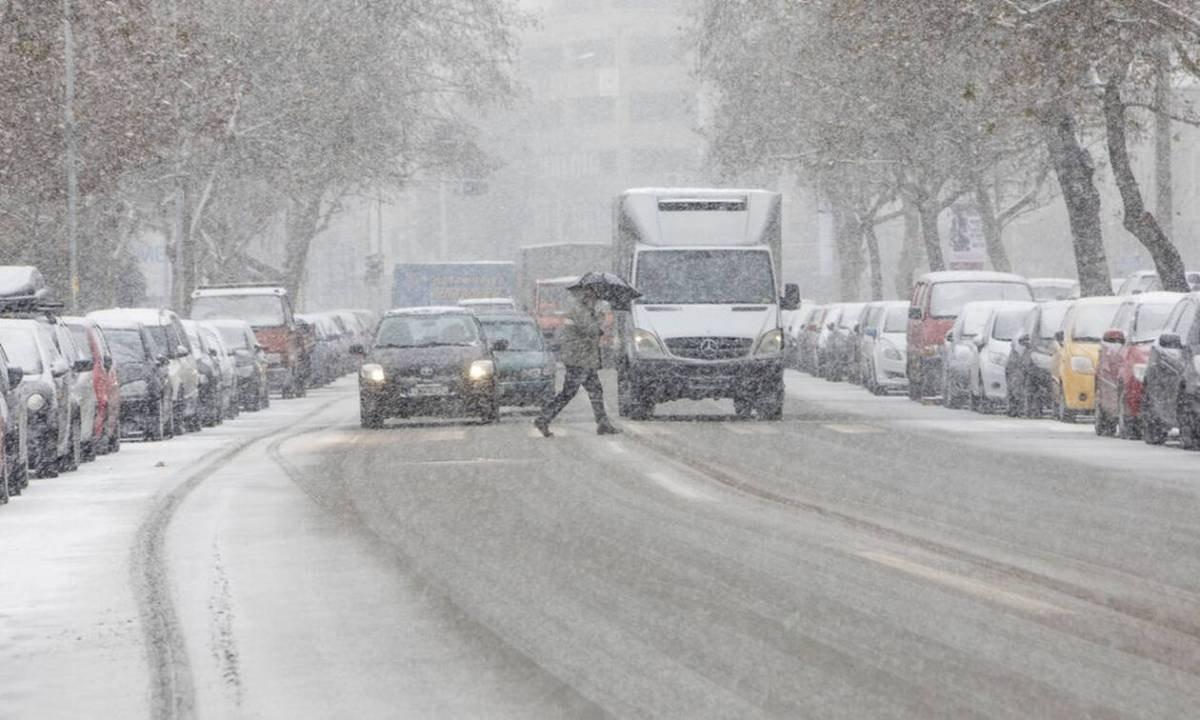 χιόνια Αθήνα πρόγνωση καιρού